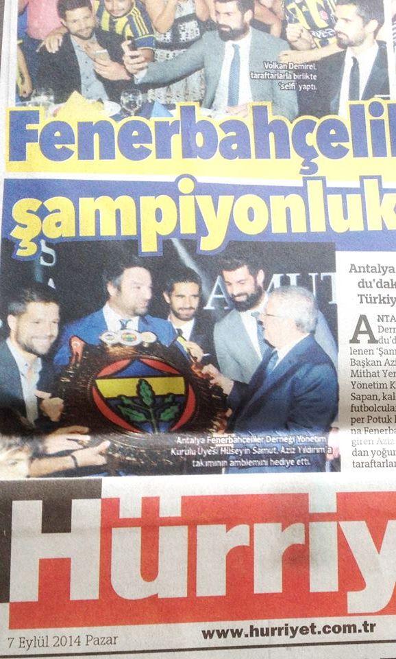 Hürriyet - Fenerbahçe Aziz Yıldırım