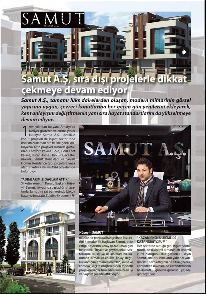 Son Nokta Dergisi- Hüseyin Samut