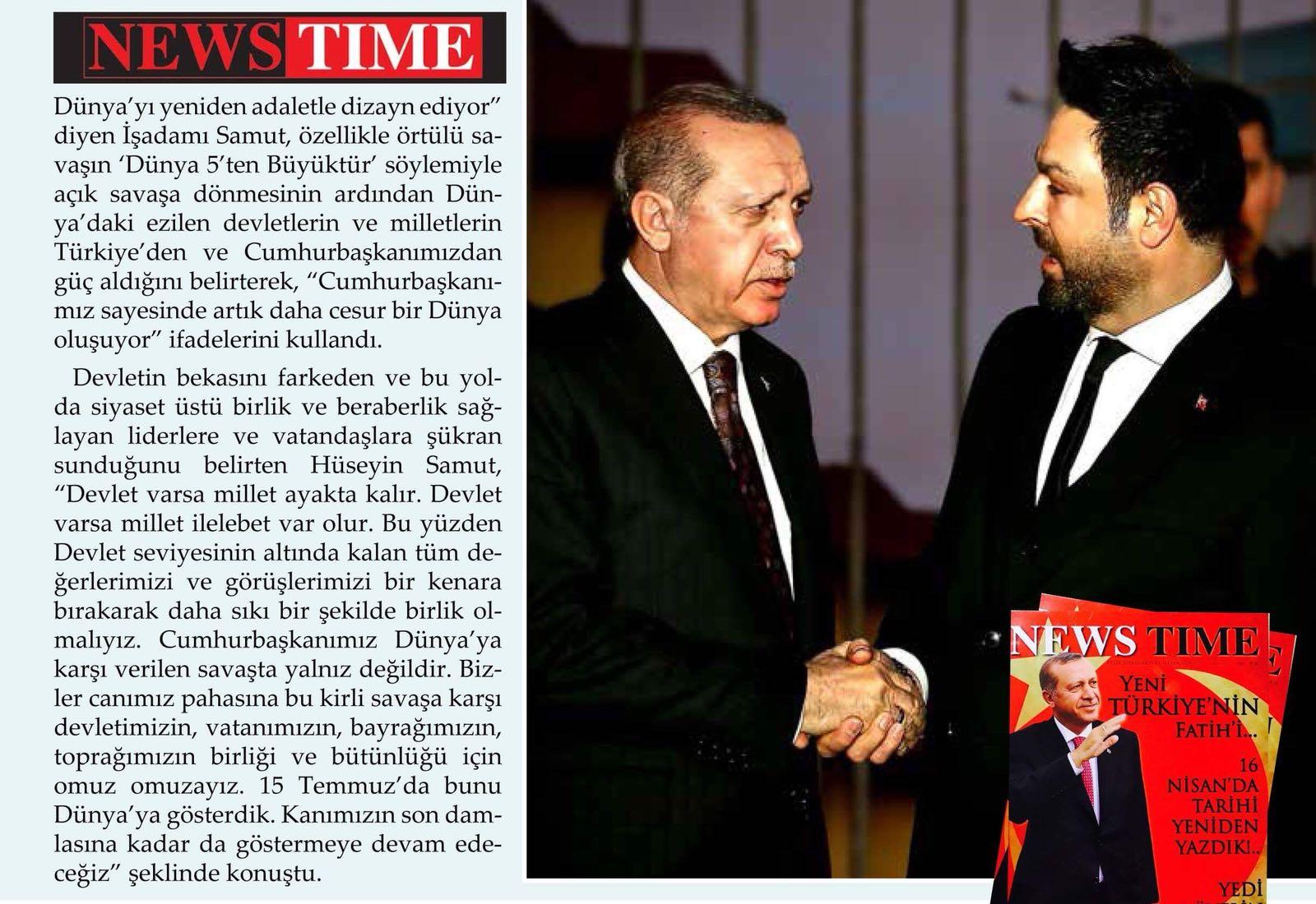 News Time - Recep Tayyip Erdoğan