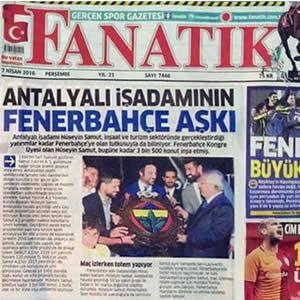 Fanatik-Antalyalı İş Adamının Fenerbahçe Aşkı