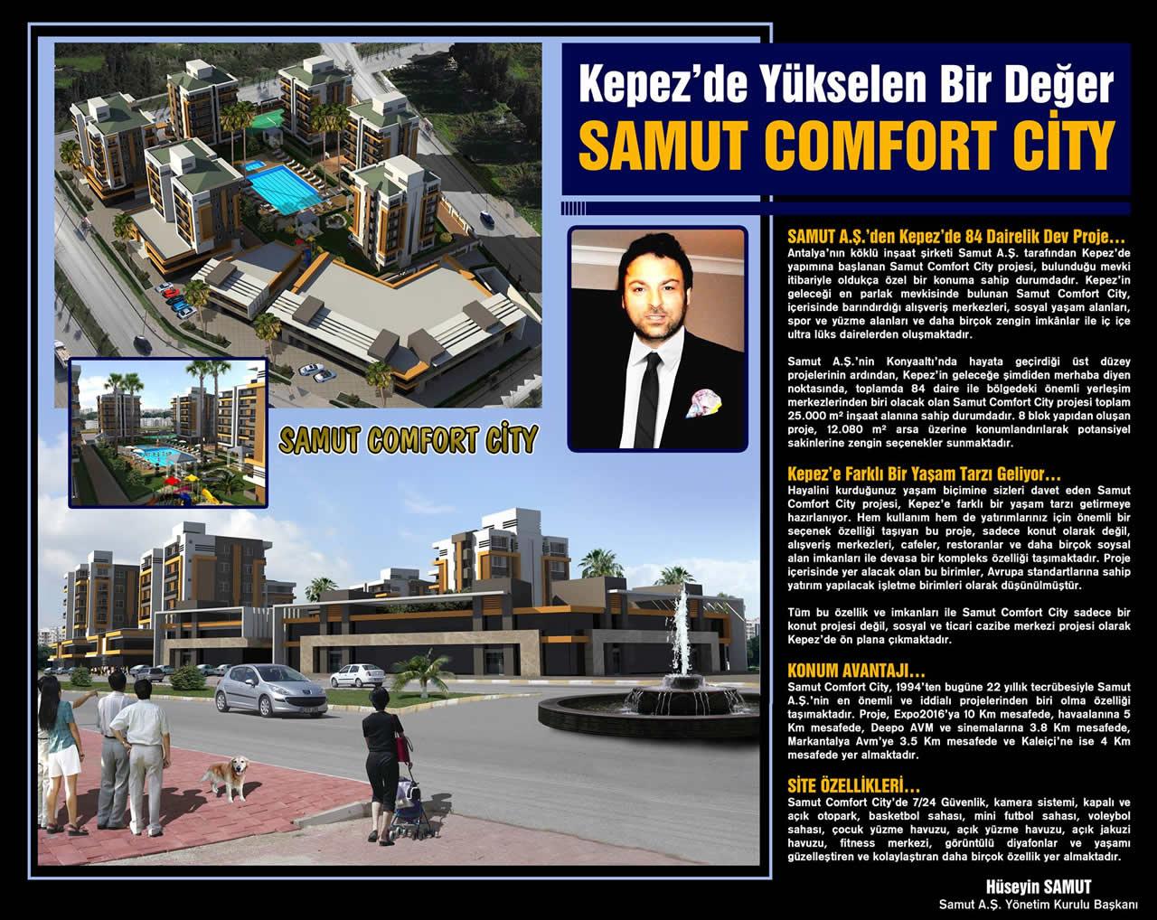 Samut Comfort City Kepez